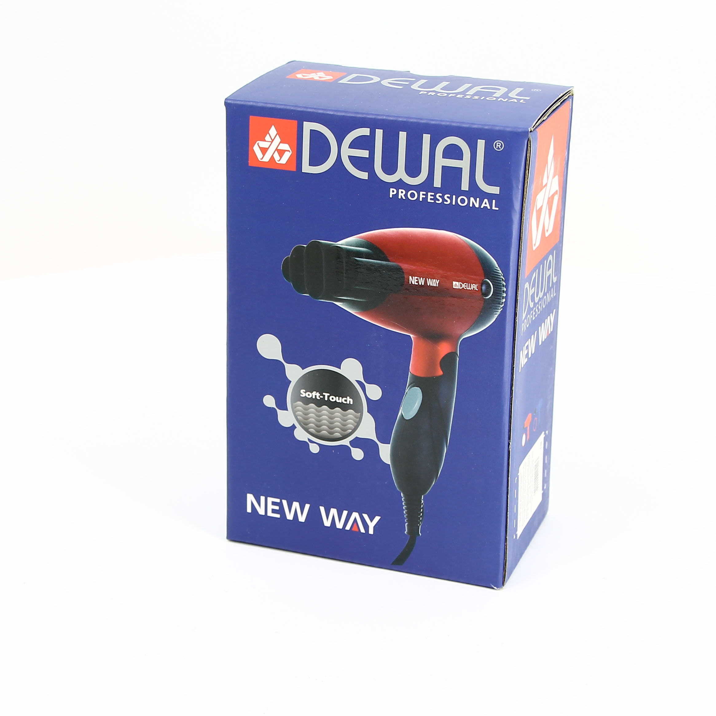 Фен 1000 Вт New Way DEWAL 03-5512 Blue