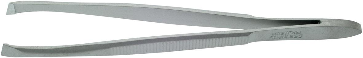 Пинцет наклонный сатинированный, 5мм DOVO 4573526