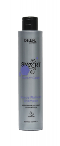 Шампунь для светлых волос SMART CARE Protect Color Blonde Platinum Shampoo DEWAL Cosmetics DCC20106